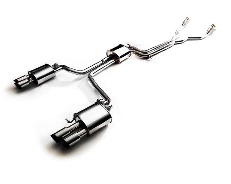 AUBS4-QS11C | ARMYTRIX Stainless Steel Valvetronic Catback Exhaust