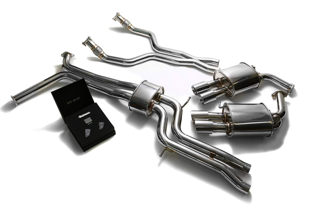 AUC7T-QS11C | ARMYTRIX Stainless Steel Valvetronic Catback Exhaust