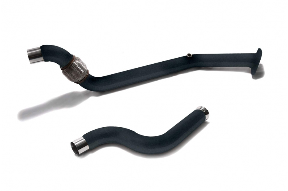 ARMYTRIX Ceramic Coated High-Flow Performance Race Pipe w/Cat-Simulator Ford Mustang GT Coyote 5.0L V8 2018-2020 - FDM6Q-DDC