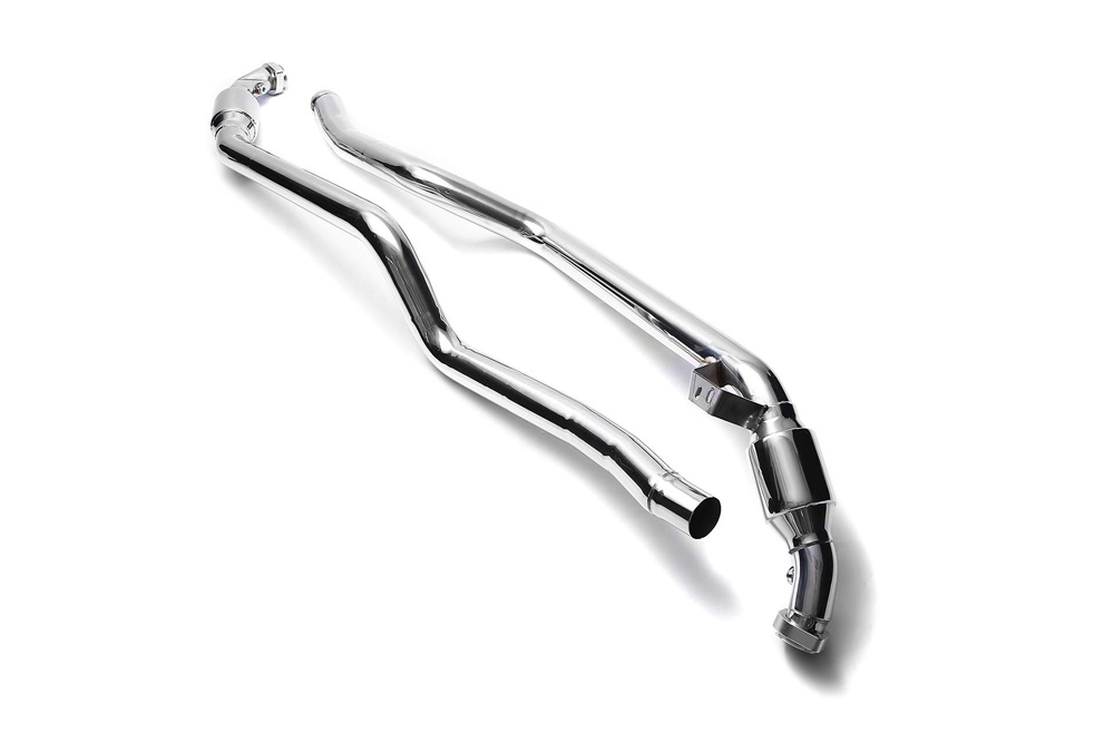 ARMYTRIX Sport Cat-Pipe with 200 CPSI Catalytic Converters Mercedes-Benz C63 AMG W204 08-14 - MB046-CD