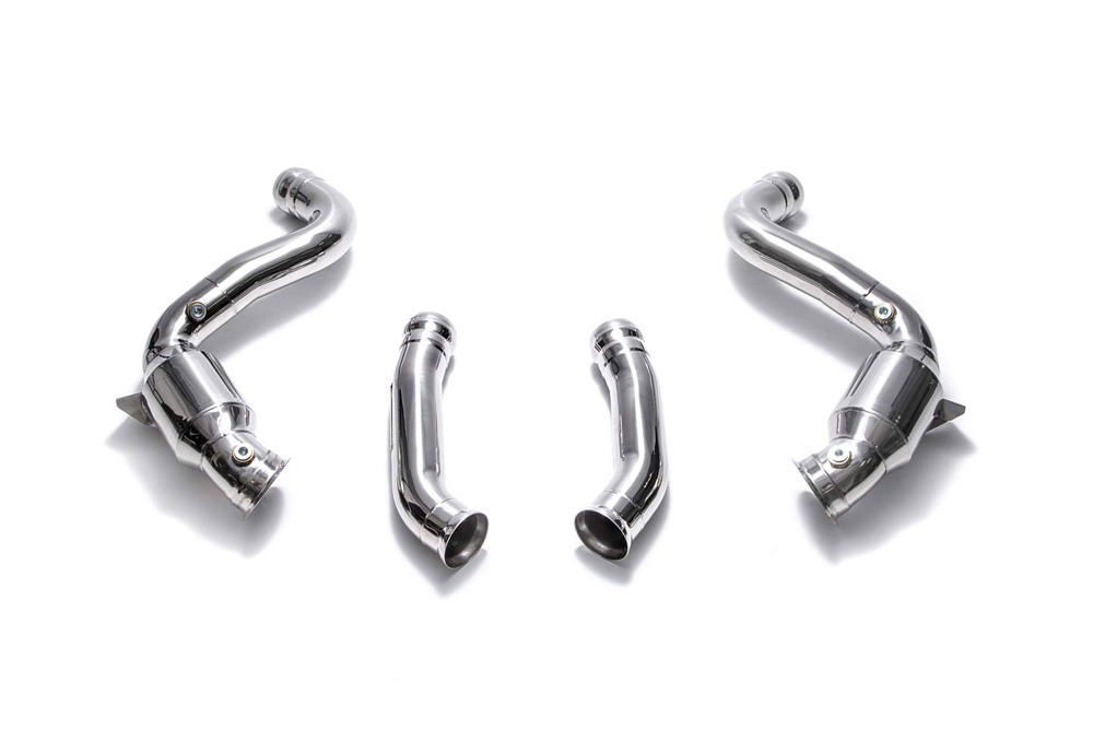 ARMYTRIX Sport Cat-Pipe with 200 CPSI Catalytic Converter Mercedes-Benz C63 AMG | AMG S W205 2015-2020 - MB056-CD