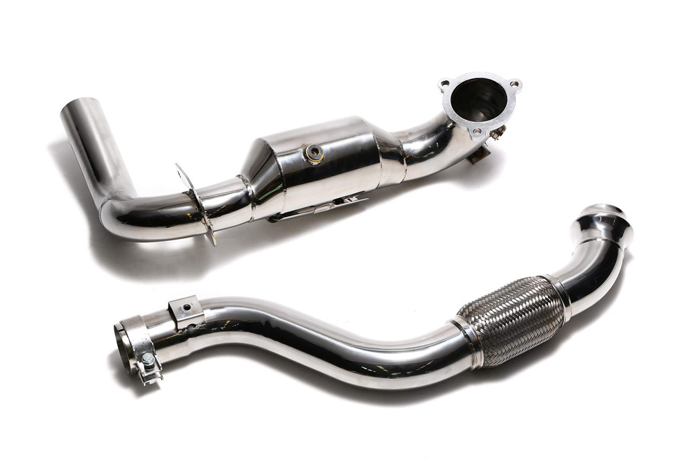 ARMYTRIX Sport Cat-Pipe with 200 CPSI Catalytic Converters and Link Pipe Mercedes-Benz A-Class | CLA-Class 13-18 - MB270-CD