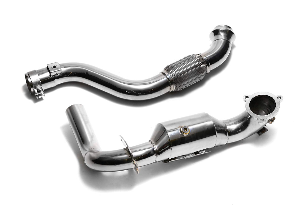 ARMYTRIX High-Flow Performance Race Downpipe | Link Pipe Mercedes-Benz A-Class | CLA-Class 13-18 - MB270-DD