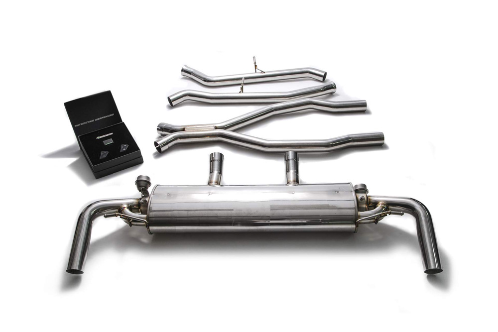 ARMYTRIX Stainless Steel Valvetronic Muffler Mercedes-Benz GLE43 AMG | GLE400 | GLE450 C292 2016-2020 - MB924-C
