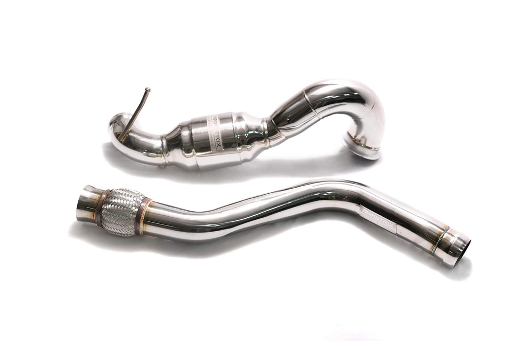 ARMYTRIX Sport Cat-Pipe with 200 CPSI Catalytic Converters and Link Pipe Mercedes-Benz A-Class | CLA-Class | GLA-Class AMG 13-18 - MBA45-CD