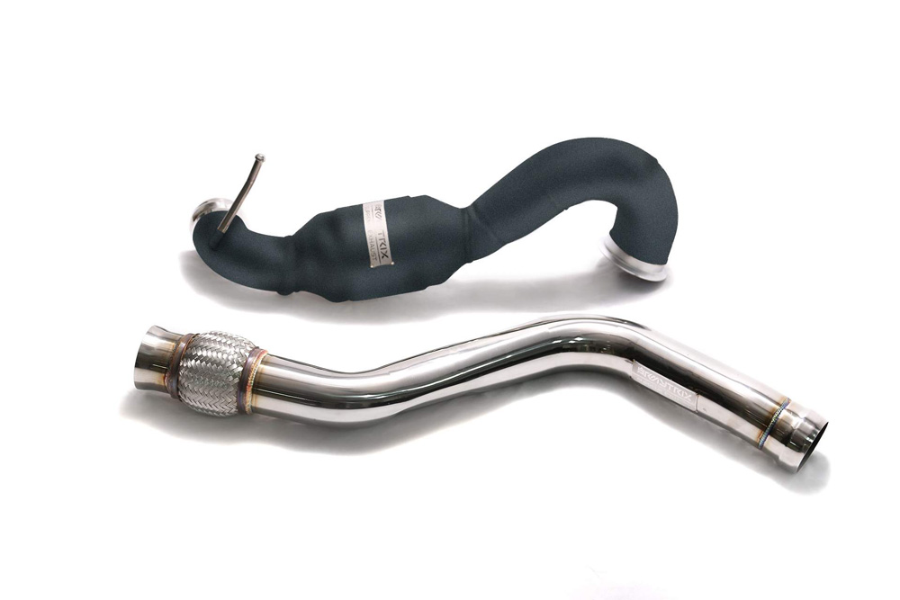 ARMYTRIX Ceramic Coated Sport Cat-Pipe with 200 CPSI Catalytic Converters and Link Pipe Mercedes-Benz A-Class | CLA-Class | GLA-Class AMG 13-19 - MBA45-CDC