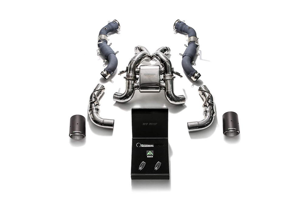 MC5XS-DC45 | ARMYTRIX Stainless Steel Valvetronic Catback Exhaust