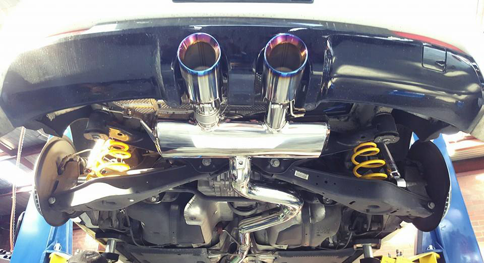 VWG6R-DS23C | ARMYTRIX Stainless Steel Valvetronic Catback Exhaust