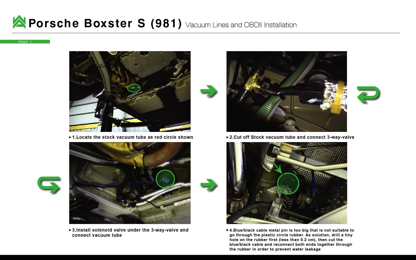 Armytrix Porsche Installations Usa Exhaust Systems Boxster Engine Vacuum Diagram 981 Cayman Download Pdf Here Boxter Wiring Instruction Manual