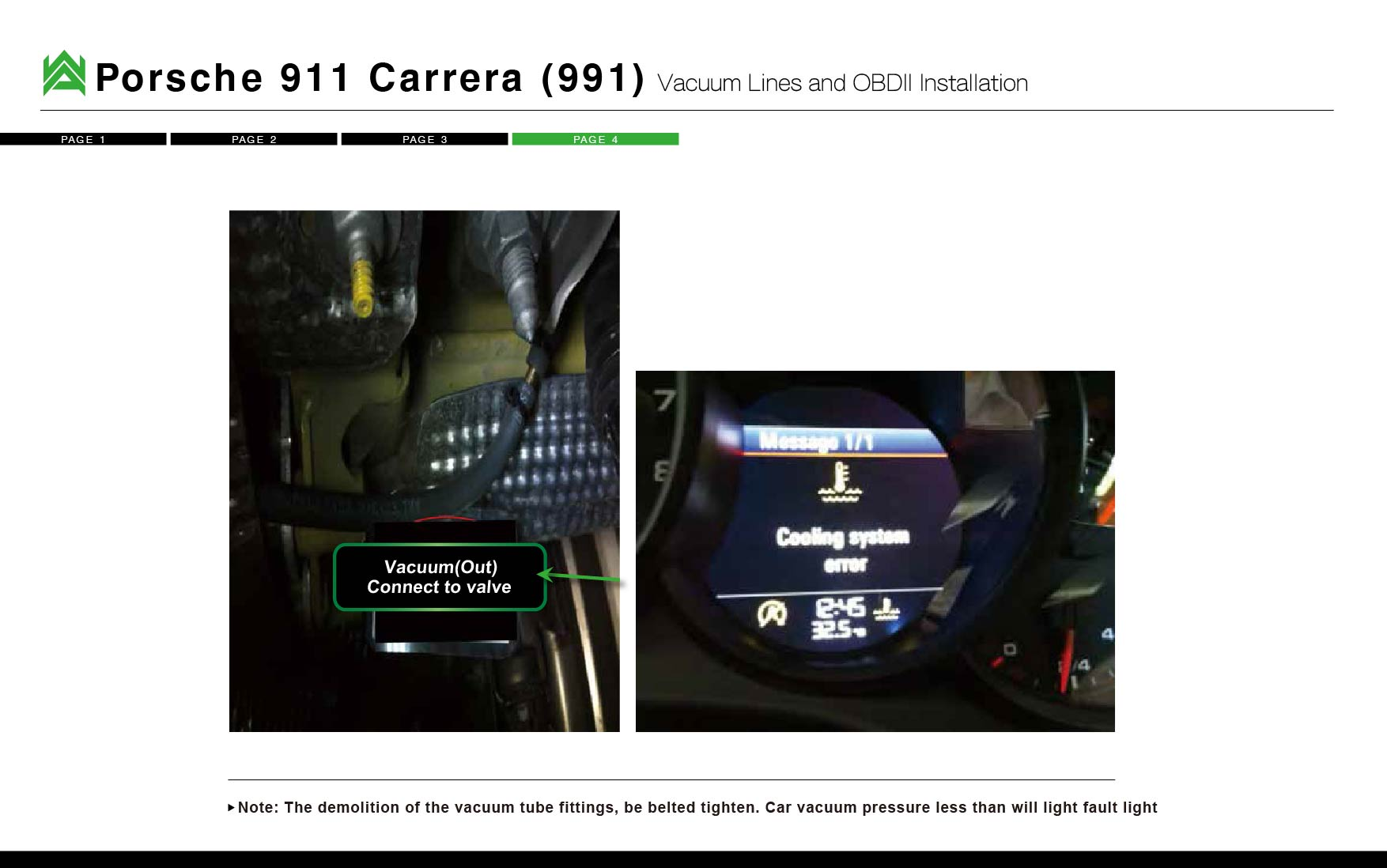 Armytrix Porsche Installations Usa Exhaust Systems Vacuum Diagram 991 Carrera Download Pdf Here Wiring Instruction Manual