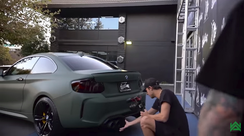 Kade Speiser is STOKED over his new ARMYTRIX BMW M2 ...