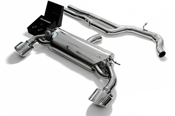 ARMYTRIX Valvetronic Stainless Steel Catback Exhaust System Dual Mattle Black Tips Audi RS3 8V 2.5L Turbo Sportback 15-17