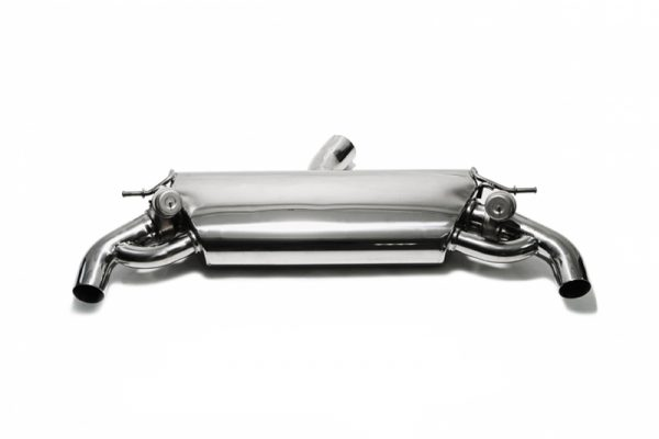 ARMYTRIX Valvetronic Stainless Steel Catback Exhaust System Dual Blue Coated Tips Audi RS3 8V 2.5L Turbo Sportback 15-17
