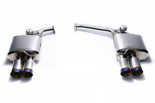 ARMYTRIX Stainless Steel Valvetronic Catback Exhaust System Quad Matte Black Tips Audi A4 | A5 B8 08-15