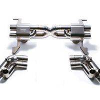 ARMYTRIX Titanium Valvetronic Exhaust System Audi R8 V10 5.2L FSI 08-13
