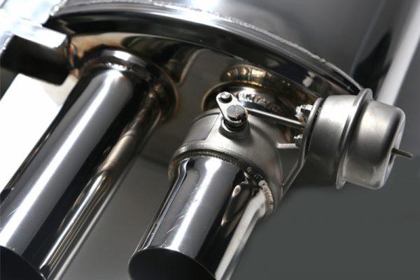 ARMYTRIX Performance Valvetronic Catback Exhaust System Quad Matte Black Tips BMW M6 F12 | F13 13-17
