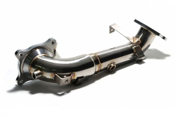 ARMYTRIX Ceramic Coated High-Flow Performance Race Pipe With Cat-Simulator Honda Civic Type-R FK2 2.0L Turbo 16-17