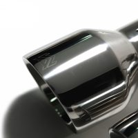 ARMYTRIX Stainless Steel Valvetronic Catback Exhaust System Quad Matte Black Tips Honda Civic Type-R FK2 2.0L Turbo 16-17