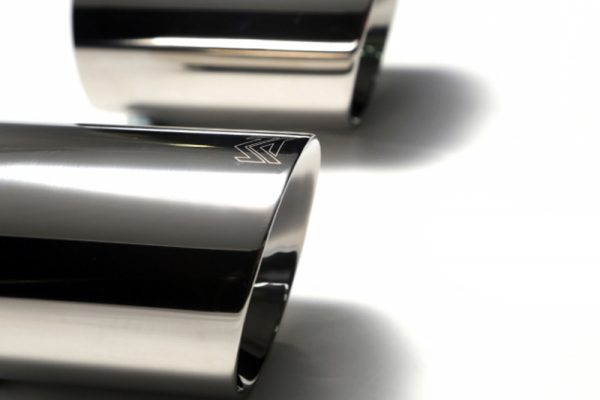 ARMYTRIX Valvetronic Stainless Steel Catback Exhaust System Dual Chrome Silver Tips Range Rover Evoque Pure | SE 12-17