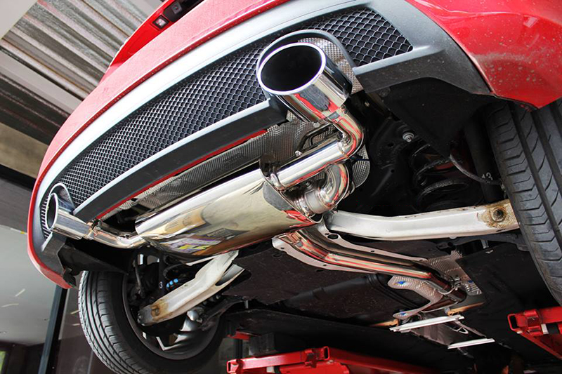 Armytrix Stainless Steel Valvetronic Catback Exhaust System Mercedes Benz A Class W176 2wd 16 17