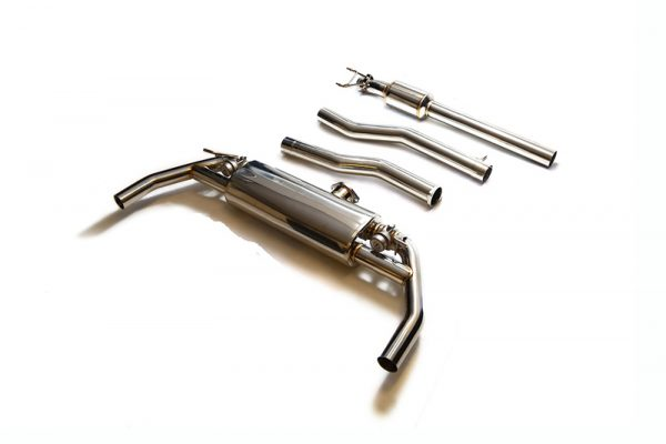 ARMYTRIX Stainless Steel Valvetronic Catback Exhaust System Mercedes-Benz CLA45 AMG C117 14-17