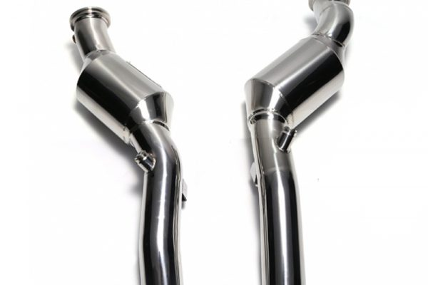 ARMYTRIX Ceramic Coated Sport Cat-Pipe with 200 CPSI Catalytic Converter Maserati Quattroporte GTS 13-17