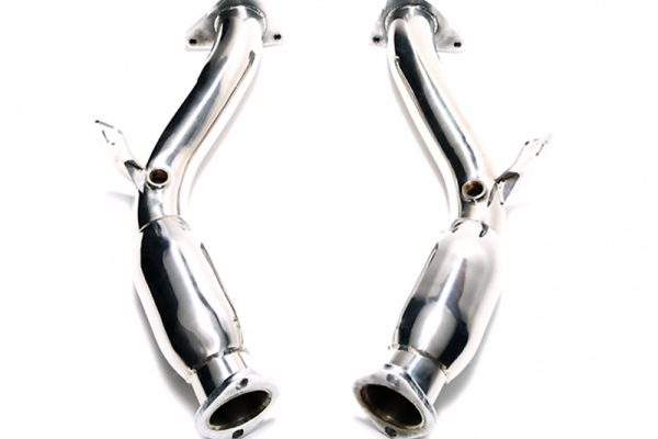 ARMYTRIX Ceramic Coated Sport High-Flow Cat-Pipe With 200 Cpsi Catalytic Converters Nissan 370Z 09-17