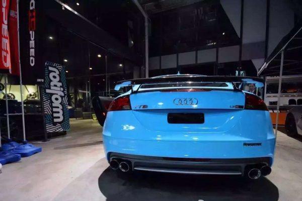 ARMYTRIX Stainless Steel Valvetronic Catback Exhaust System Quad Chrome Tips Audi TT | TTS Quattro MK2 8J 4WD 07-14