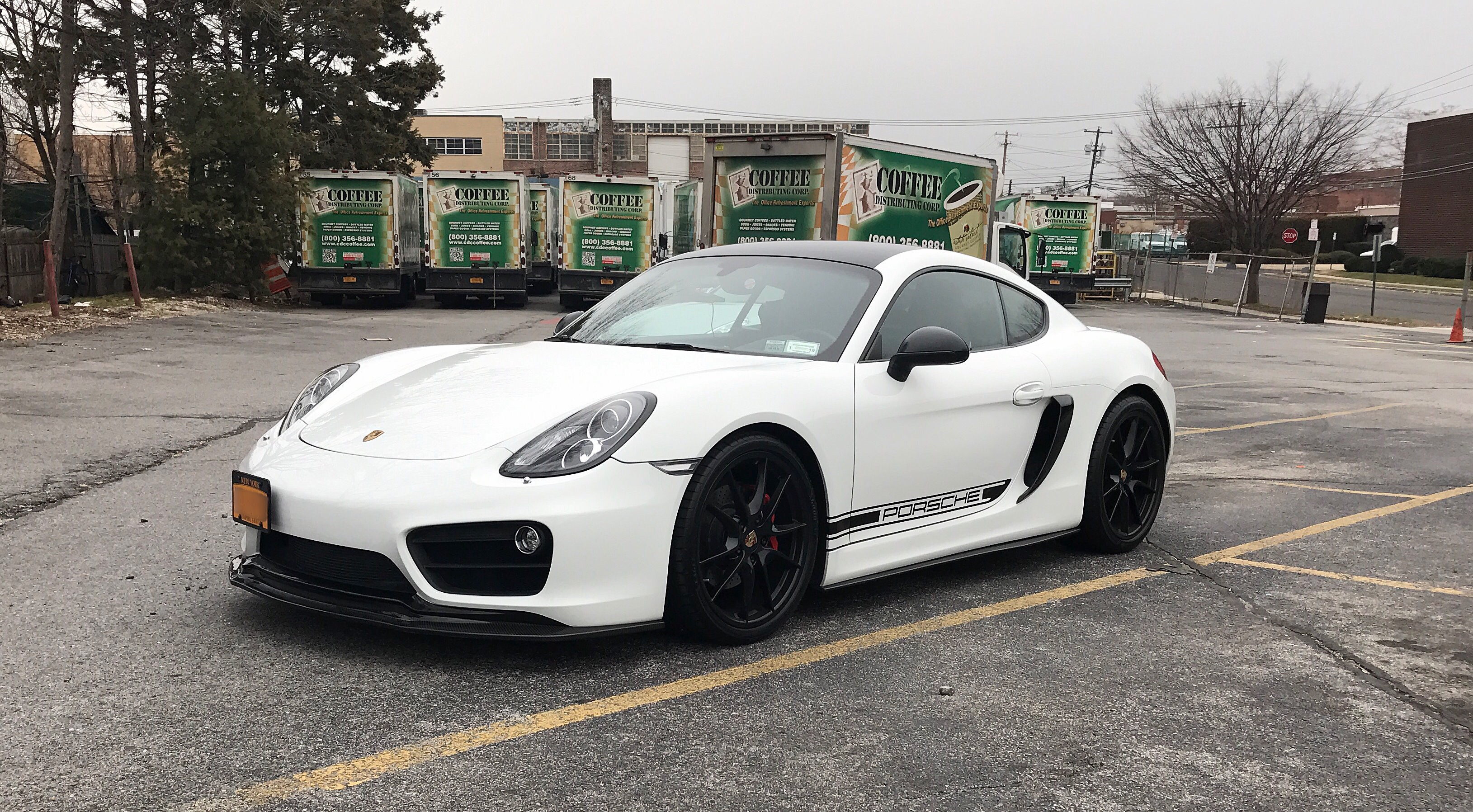porsche 981 cayman s with matte black tips installed armytrix usa exhaust systems. Black Bedroom Furniture Sets. Home Design Ideas